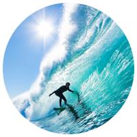 conquer the waves around Seminyak