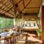 Taman Sorga - Main house terrace sitting area