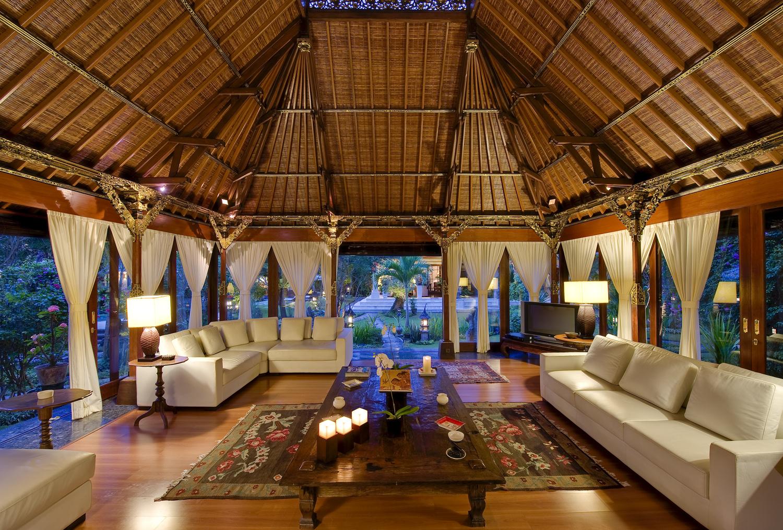 Taman Sorga - living pavilion