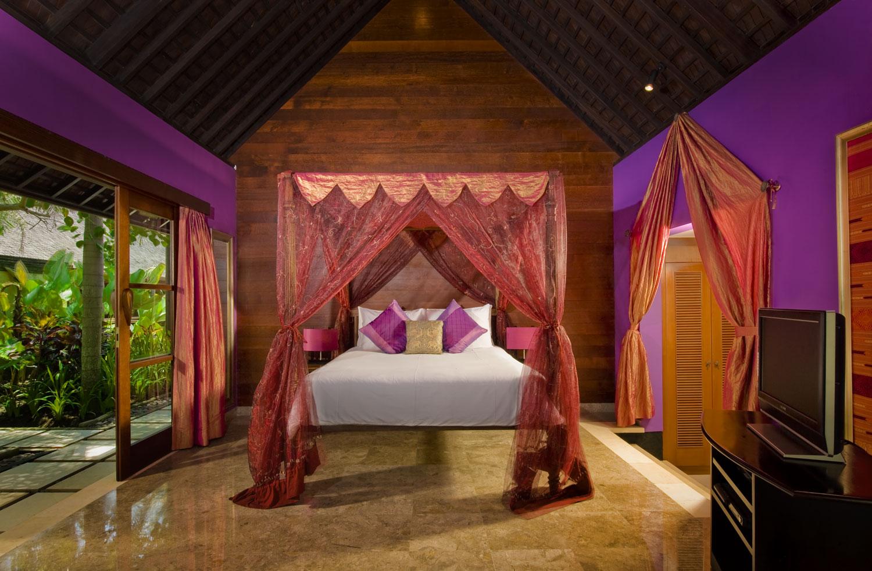 Pushpapuri - Purple Bedroom