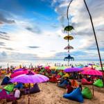 la plancha, seminyak beach, bali beach, bali sunset