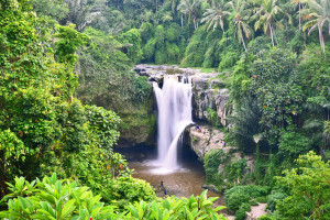 waterfall bali, tegenungan waterfall