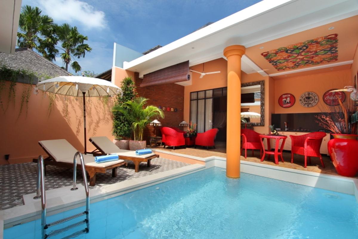 Elegant 1 bedroom villa mv007se seminyak maviba for Seminyak villas 1 bedroom